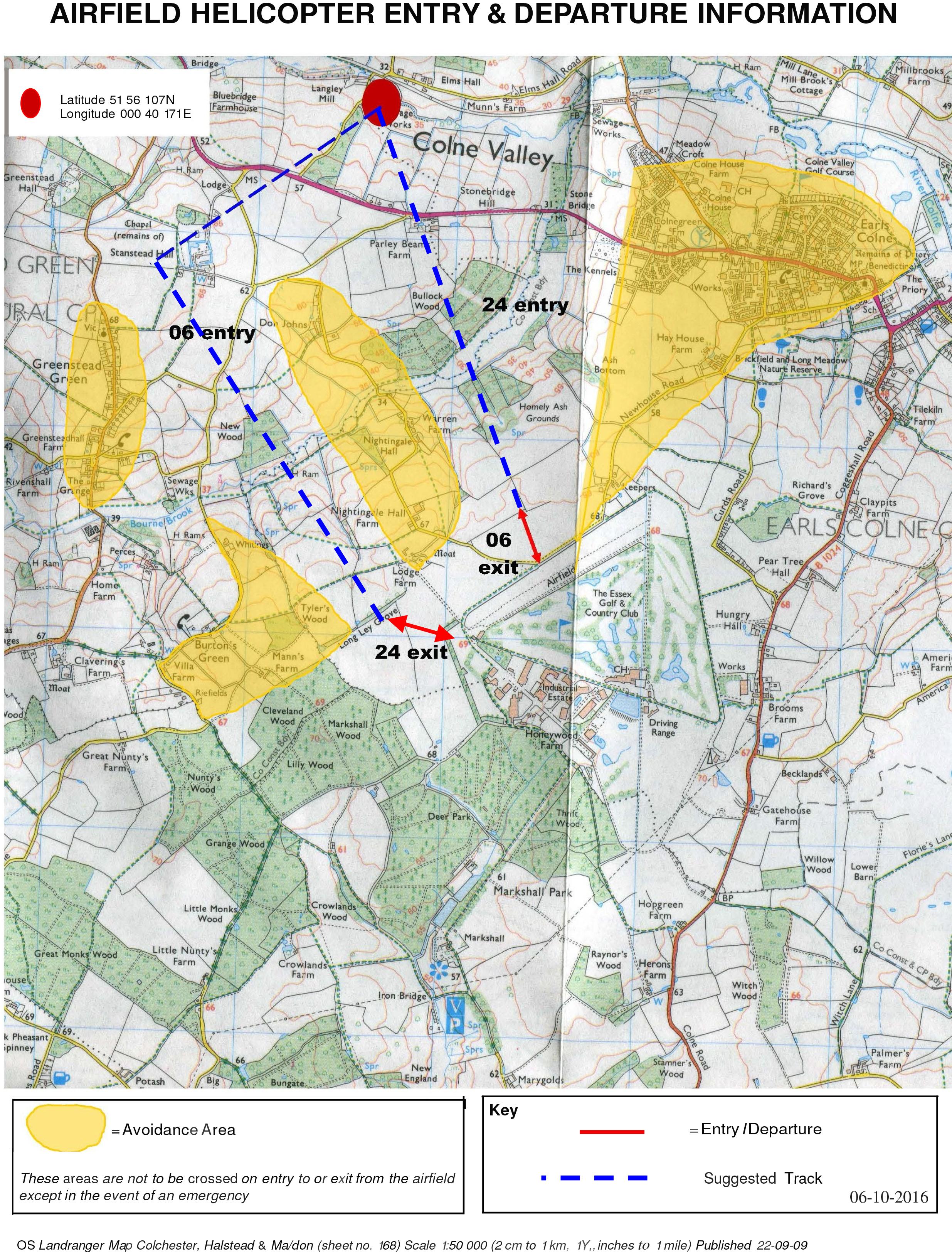 Heli approach Oct 16